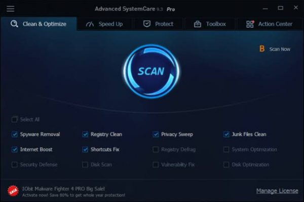 IOBIT Advanced SystemCare Pro 2020 Crack