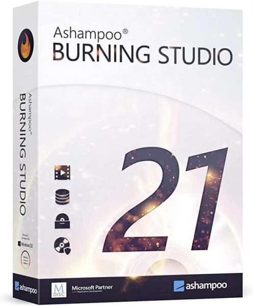 Ashampoo Burning Studio Crack 21.6.1.63 + Activation Key