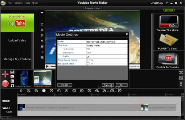 YouTube Movie Maker Crack 18.17 + License Key